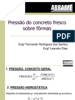 PRESSÃO DO CONCRETO SOBRE AS FORMAS.ppt