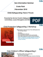 child safeguarding tutors forum presentation