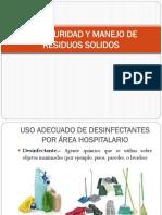 Bioseguridad y Manejo de Residuos Solidos
