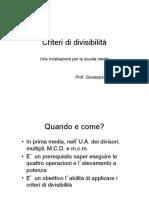 divisibilita