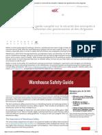 Guide complet des risques en entrepôt