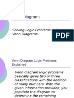 Venn Diagram Logic Problem Tutorial