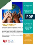 AFICHE RACISMO