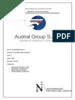Trabajo Austral Group SAA CONTABILIDAD