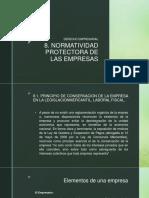 Normatividad Protectora de Las Empresas