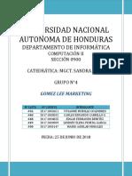 Informe SISTEMAS DE INFORMACION