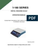 XK3119WP, LCD indicator manual