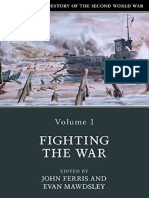The Cambridge History of the Second World War Volume I