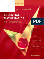 Barker v.C., Aufmann R.N., Lockwood J.-essential Mathematics With Applications_ Student Support Edition