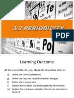 3.2 Periodicity 2.5.18