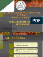 Metalurgia Del Hierro