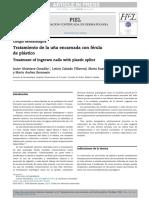 Tratamiento de la una encarnada con férula de plástico.pdf