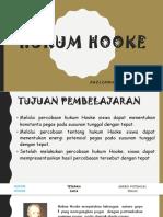 HUKUM HOOKE Presentasi