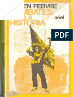 Febvre, L - Combates Por La Historia [1953]