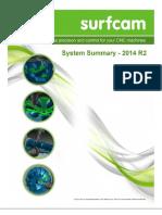 SURFCAM 2014 R2 System Summary