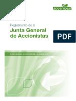 Reglamento Junta General Accionistas