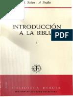 03. Robert, A - Introduccion a La Bilia