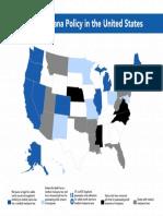 Marijuana Policy Map November 2018