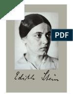 Edith Stein - La idea de hombre como fundamento de la educación