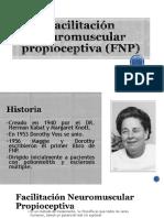 Facilitación Neuromuscular Propioceptiva (FNP)