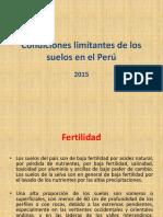 Condiciones Limitantes de Los Suelos 2014