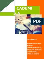 Constitucion de Empresa CADEMI S.a.