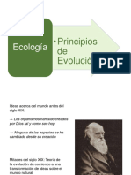 Principios de La Evolucion