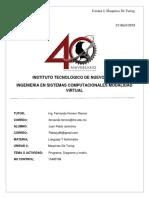 Programa, Diagrama y Matriz _ Unidad 4 Lenguajes Y Automatas