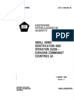 DST 1110H-394-76, Small Arms ID Operations Guide Euraisian Communist Countries (Aug 1983)