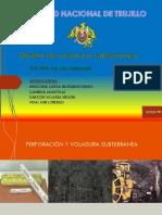 diseño de Voladura Subterranea