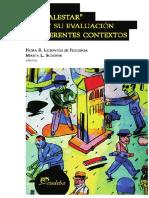 El _malestar_ y Su Evaluación en Diferentes Contextos