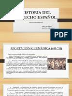 Historia Derecho Español