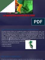 La Descentralización en El Perú 1 1
