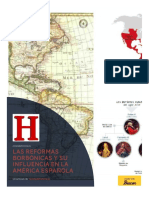 Las Reformas Borbonicas y Su Influencia en La America Espanola