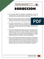 Hidraulica Urbana-DISEÑO DE RED DE AGUA