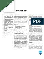 Concresive Standard Lvi