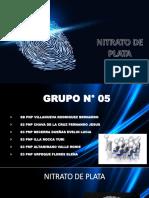 NITRATO DE PLATA GRUPO N°5