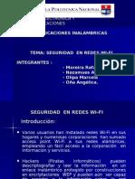 seguridad en redes WI-FI