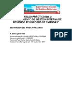 TRABAJO PRÁCTICO NO. 2 PROCEDIMIENTO DE GESTIÓN INTERNA DE RESIDUOS PELIGROSOS DE CYROGAS.pdf