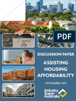 Assisting Housing Affordability ISA Discussion Paper FINAL 2017