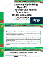 Simultaneously Optimizing Open-Pit and Underground Mining Operations Under Geological Uncertainty