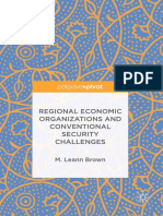 Regional Economic Organizations and Conventional Security Challenges