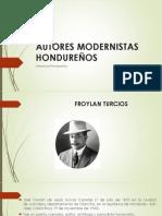Autores Modernistas Hondureños