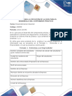 Formato Para La Ejecución de La Guía Para El Desarrollo Del Componente Práctico(1)