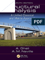 Ghali, Amin_ Neville, Adam - Structural Analysis _ a Unified Classical and Matrix Approach, Seventh Edition (2017, Taylor and Francis)