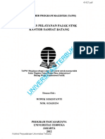 TESIS_WIWIK SUKISTANTI_KUALITAS PELAYANAN PAJAK STNK KANTOR SAMSAT BATANG.pdf