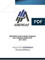 Plan AMEREIAF Vinculacion Estrategica