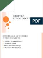 CS - Written Communication