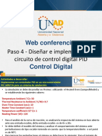 Web Conferencia 4 Control Digital Paso 3 Fecha 23-11-2018