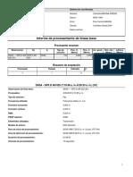 Informe de Procesamiento de Líneas Base